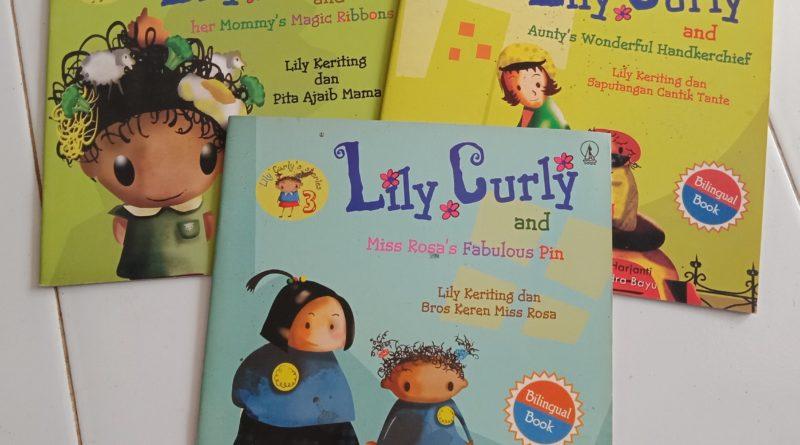 """IMG 20190103 084220   """"Lily Curly's Stories"""": 3 Seri Children Pictorial Book tentang Lily, Seorang Gadis Kecil yang Baik, Lincah, Pemberani, Kreatif, dan Penyayang"""