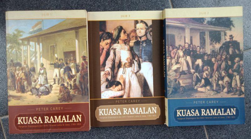 IMG 20190109 154538   Buku Kuasa Ramalan Jilid 1, 2, 3 karya Peter Carey: Kisah Hidup dan Perjuangan Pangeran Diponegoro yang Detail, Komplit, dan Sangat Manusiawi