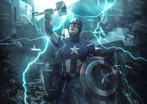 IMG 20190524 144022 | Captain America and Mjolnir